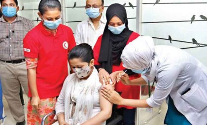 Mass vaccination for 2nd dose starts