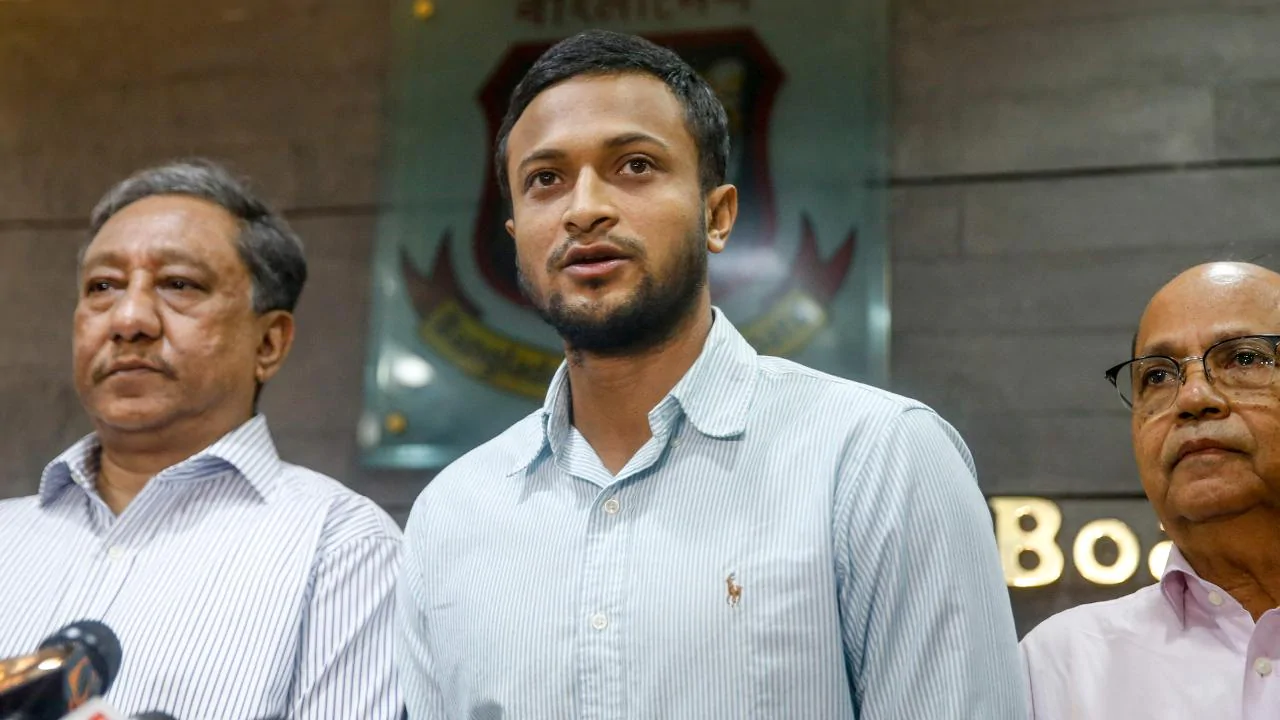 Shakib Al Hasan banned by ICC for 2 years
