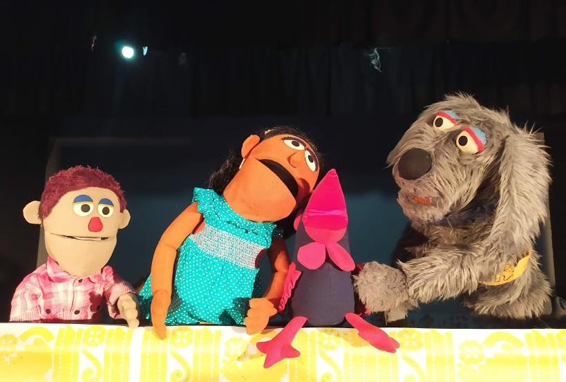 Puppet show organised for city children