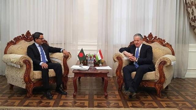 Bangladesh, Tajikistan keen to boost trade ties