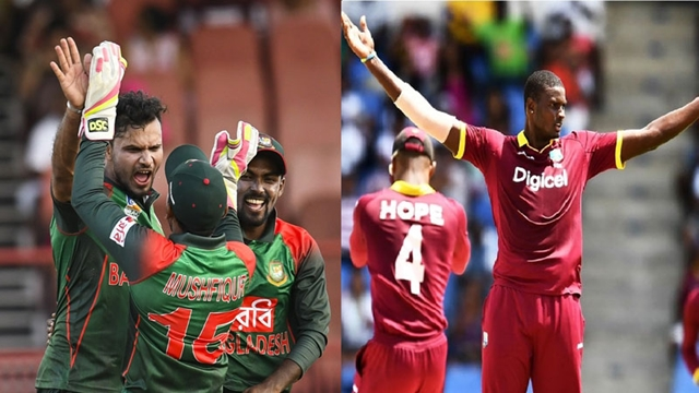 Bangladesh, West Indies face in series decider today