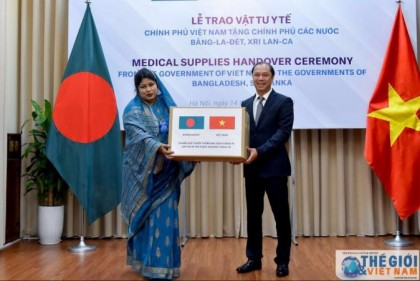 Vietnam gifts medical supplies worth USD 30,000 to BD