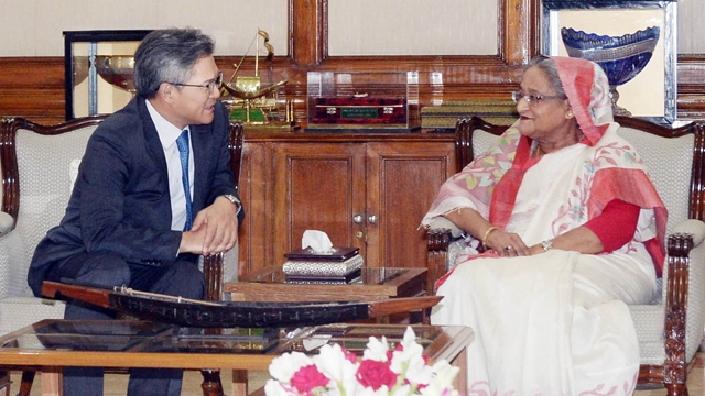PM Hasina welcomes more S Korean investment