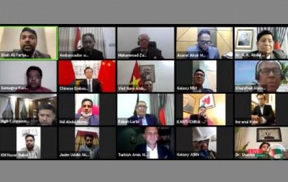 Foreign envoys shower praises on Hasina for leadership during pandemic