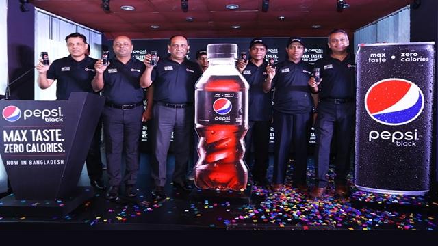 Zero-calorie Pepsi Black now in country