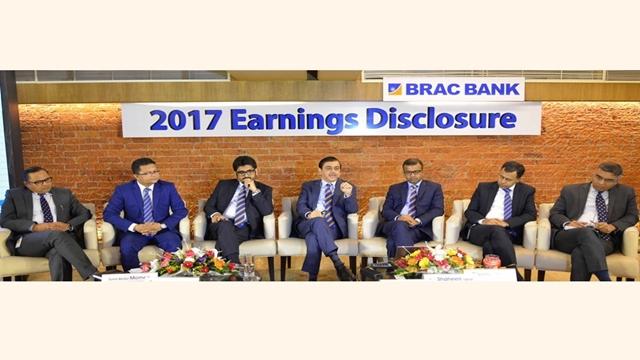 BRAC Bank records 35pc profit growth in 2017