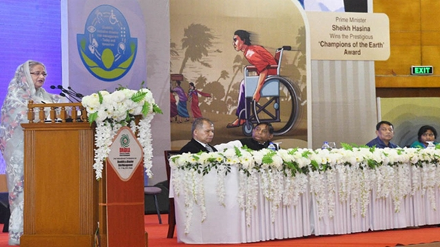 PM for inclusion of persons with disabilities in dev process