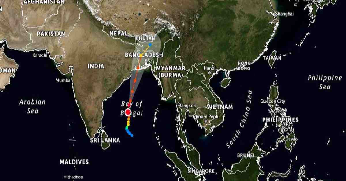 'Amphan' intensifies into extremely severe cyclonic storm