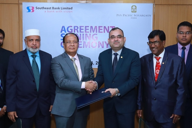 SEBL signs agreement with Pan Pacific Sonargaon