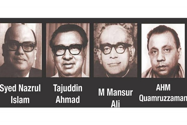 Nation paying homage to four national leaders
