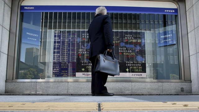 Asian shares erase losses as Mideast tensions ease, oil ticks up