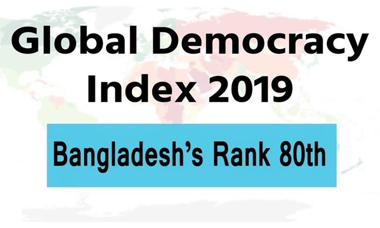Bangladesh moves up 8 notches on Democracy Index