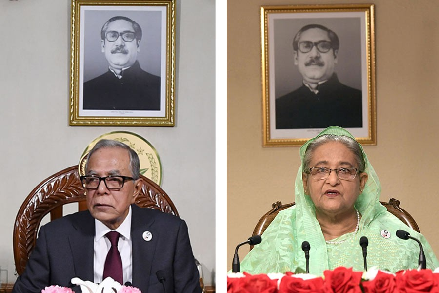 President, PM urge countrymen to turn grief into strength
