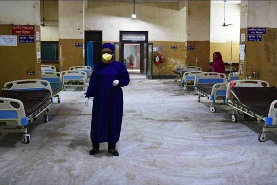 Bangladesh reports 14 more coronavirus deaths, 1041 new cases