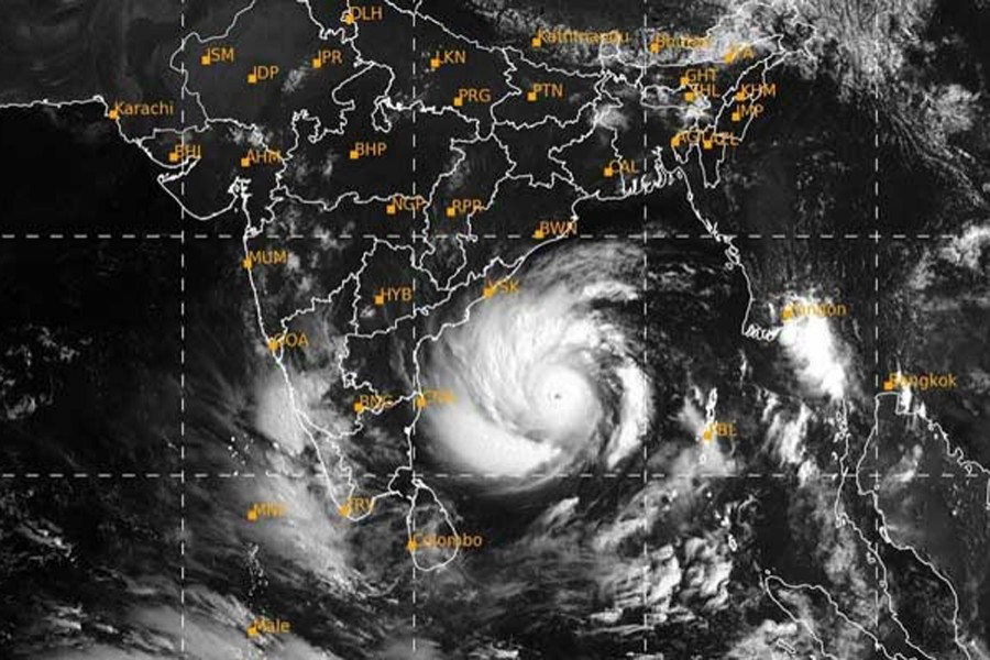 Amphan intensifies into 'very severe' cyclonic storm