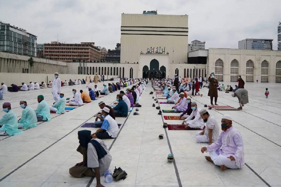 Five Eid jamaats to be held at Baitul Mukarram