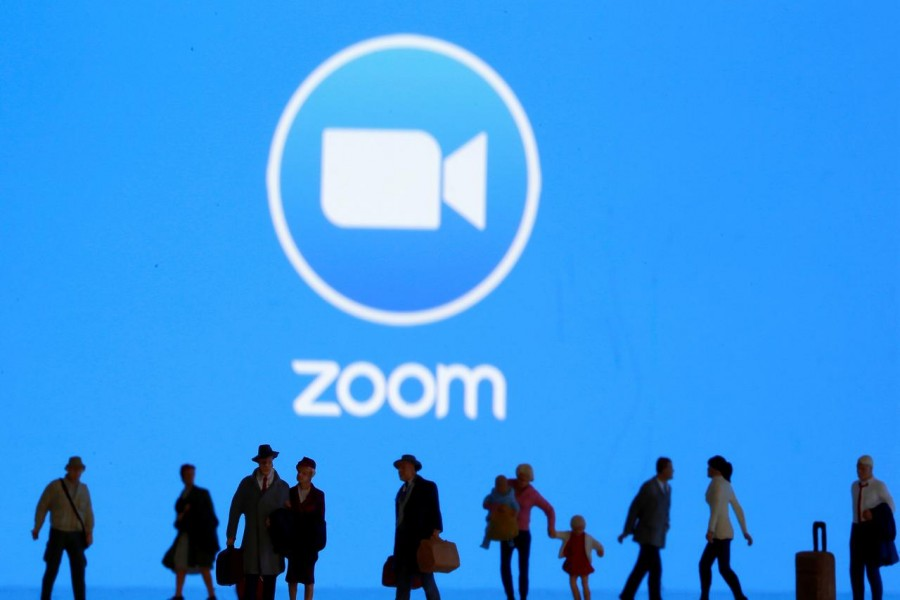 Zoom nearly doubles revenue forecast on remote-work boost