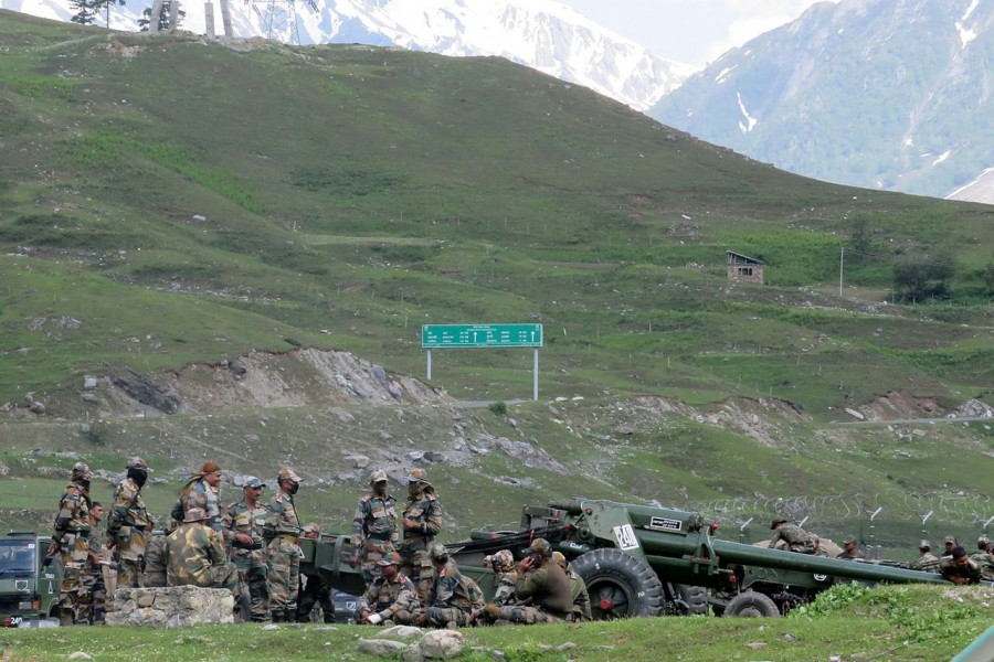 Indian army says 20 soldiers killed in border clashes with China