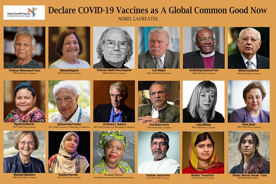 Declare COVID-19 vaccine a global common good'