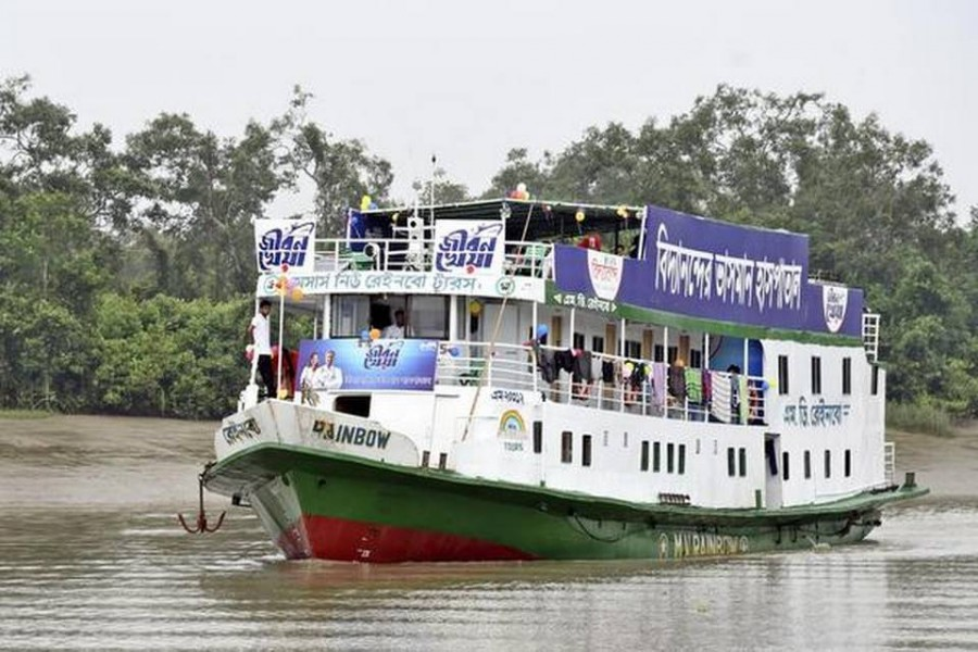 Floating hospital treats flood-ravaged community in BD