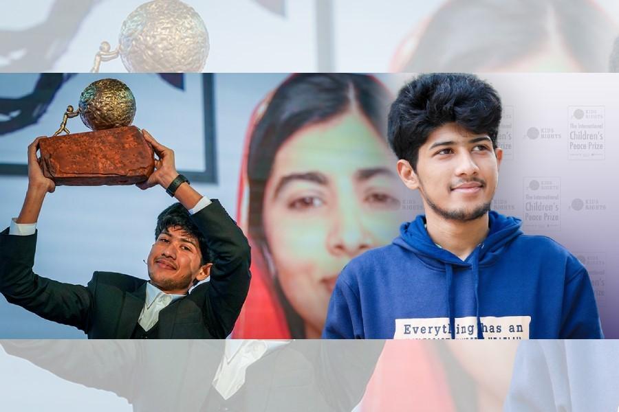 BD teenager wins International Children's Peace Prize