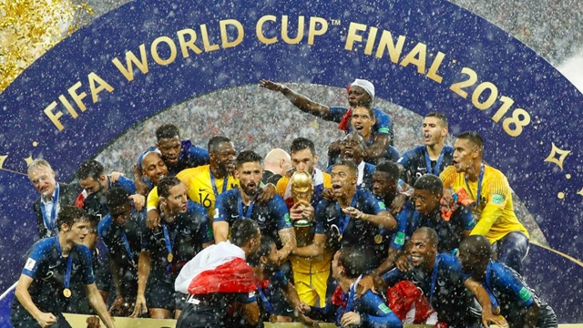 France overpower Croatia 4-2 to win World Cup