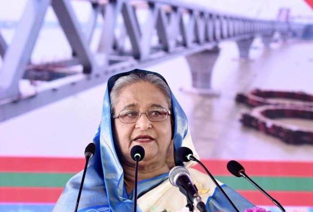 'Padma Bridge, a reply to those trying to tarnish country's image'