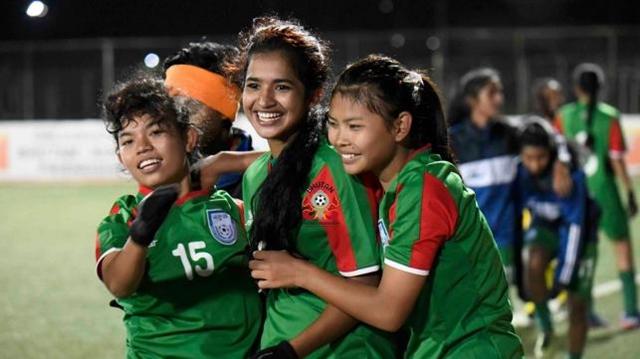 BD girls win U-18 SAAF football championship