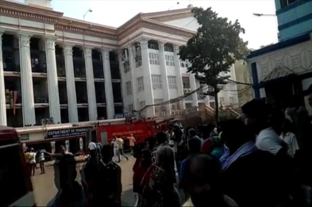 Fire breaks out at Kolkata medical college