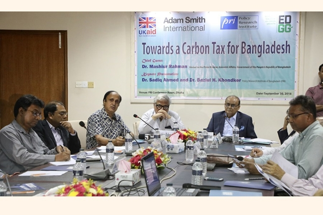 PRI pleads for carbon tax to cut emissions