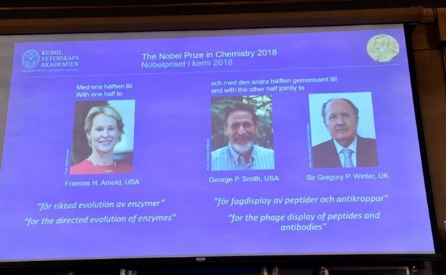 Three scientists win Nobel prize in chemistry