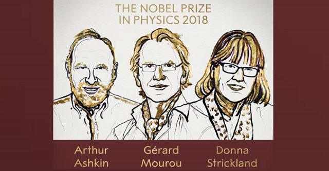 Trio win Nobel in physics for laser breakthroughs