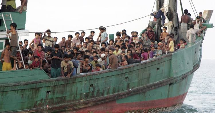 Save the people stranded at Bay of Bengal and Andaman Sea