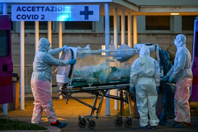 Italy's death toll overtakes China