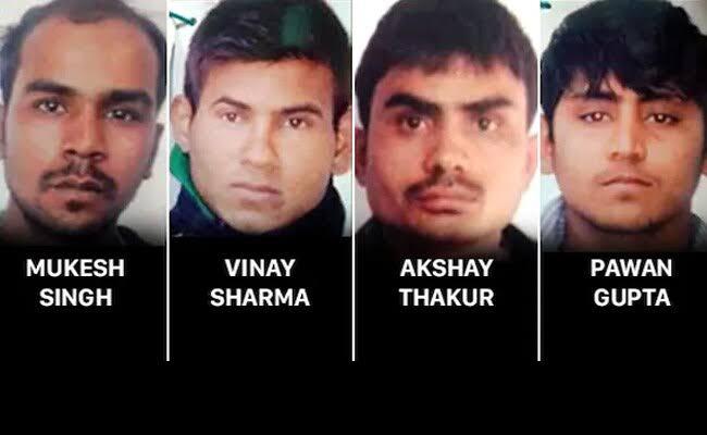 Delhi gang rape convicts hanged