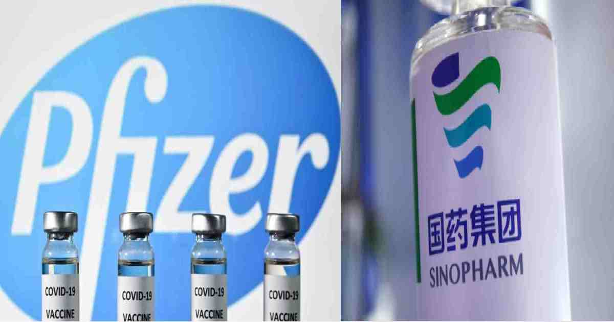 Vaccination with Pfizer, Sinopharm jabs begins on June 19
