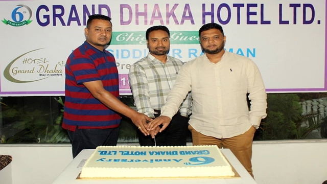 Grand Dhaka Hotel Ltd. Had celebrated its stepping into glorious 6 year Anniversary.