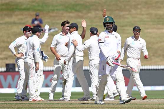 Bangladesh all out for 234 against New Zealand