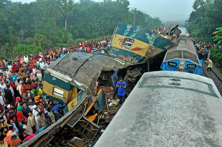 Train accidents kill 111 in six years