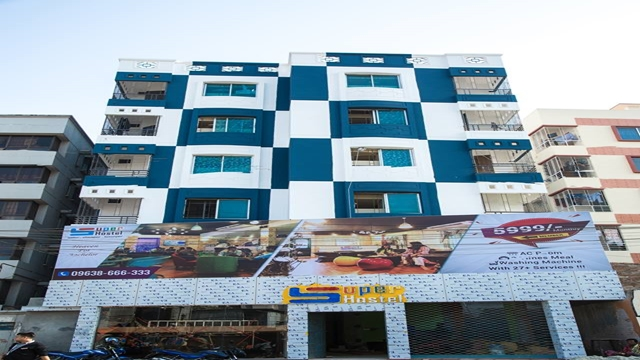 International quality hostel facility at 5999 taka