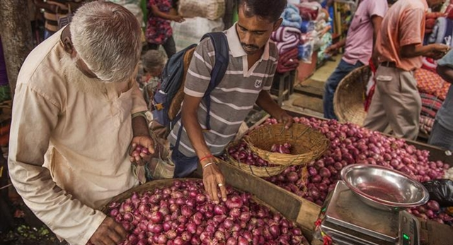 Onion prices witness downward trend