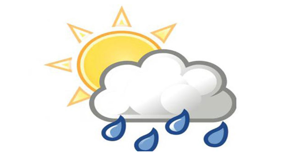 Met office forecasts rain in next 72hrs