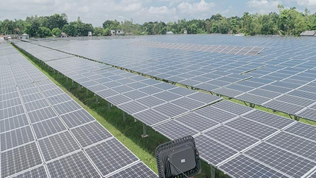 Country's largest solar power plant to start generation this month