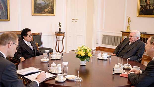 German President lauds Bangladesh's socioeconomic progress