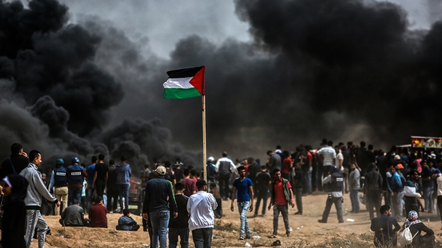 55 killed in Gaza violence before US embassy opening