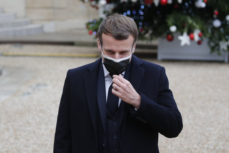 French president Emmanuel Macron tests positive for Covid-19