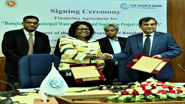 BD, WB sign $100mn financing deal for safe water, sanitation
