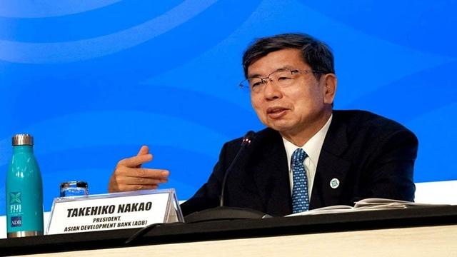 ADB President Takehiko Nakao announces resignation