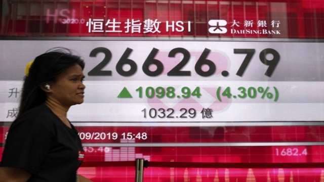 Asian markets up as traders look for China-US progress