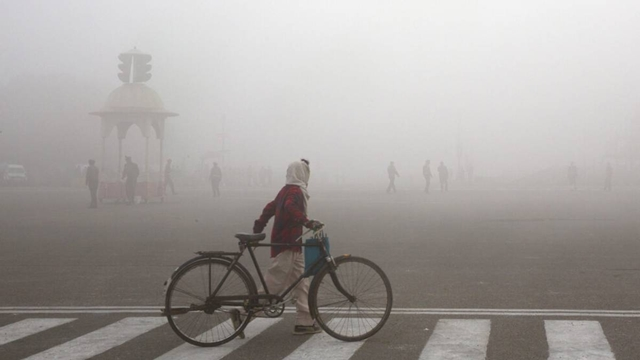 A writer tracks air pollution worldwide on unique tour
